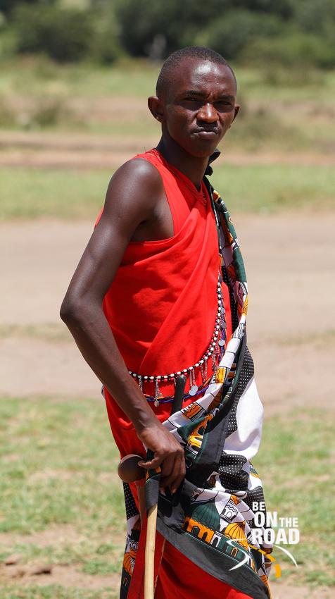 Traditional Maasai Attire