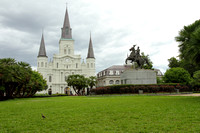 Jackson Square and St. Louis Cathedral, New Orleans