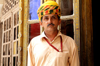 Colourful Turbans worn by Rajasthani men