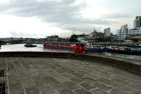 River beside Fort Santiago, Manila