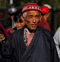 An elderly Bhutan gentleman