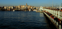 Galata Bridge and Galata Tower - Icons of Istanbul