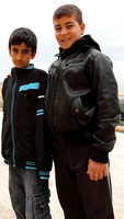Young boys pose for me at Mardin, Turkey