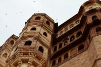 Mehrangarh - one of the prettiest forts in Rajasthan