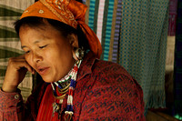 Karen tribal woman from near Mae Hong Son