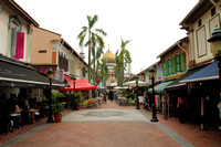 The colorful Arab quarter of Singapore