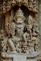 Narasimha Avatar of Vishnu at Somnathpur Keshava Temple