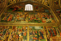 Murals from the life of Jesus Christ at Vank Cathedral, Isfahan, Iran