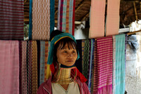 Long Necked Karen Tribal Woman of Mae Hong Son