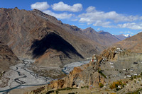 Picturesque Dhankar, Spiti Valley