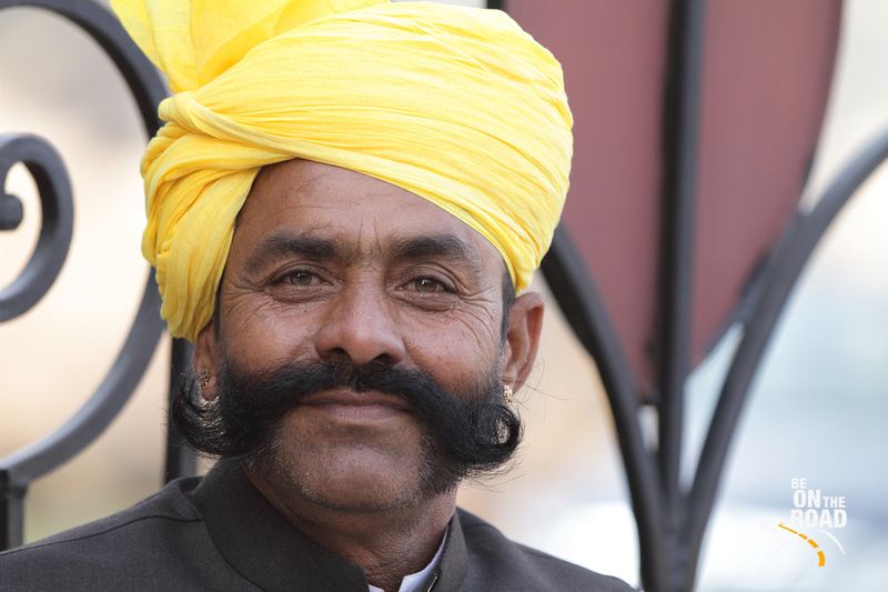 Rajasthani Handlebar - pride of the Rajasthani men