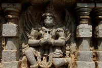 Garuda Statue from the Hoysala Temple at Somnathpur