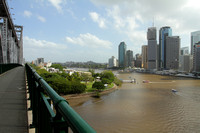 Story Bridge and the Brisbane River
